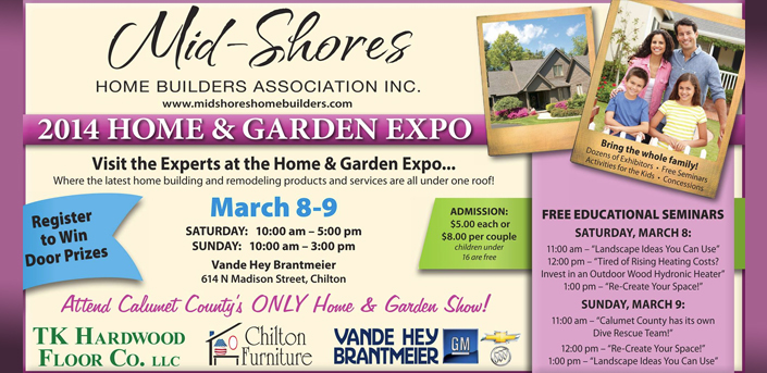 2014 Mid-Shores Home and Garden Expo